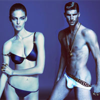 Versace Launches Beachwear and Underwear Collections for Spring Summer 2013