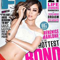 Bond Girl Bérénice Marlohe Goes Sexy for FHM Photoshoot