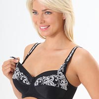 Emma-Jane Maternity Presented &#8220;Pretty&#8221; 429 Nursing Bra