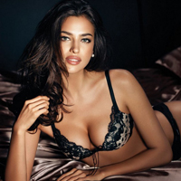 Irina Shayk for La Clover Lingerie Campaign