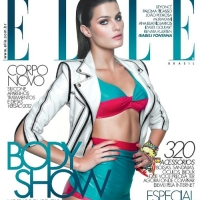 Ana Beatriz Barros, Isabeli Fontana, Izabel Goulart, and Renata Kuerten Cover Elle Brazil September 2011 Issue